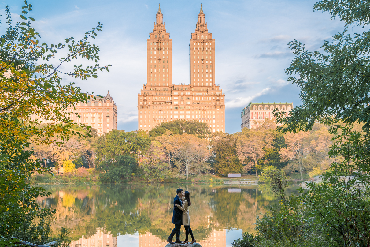 NYC Wedding Photographer Central Park Engagement