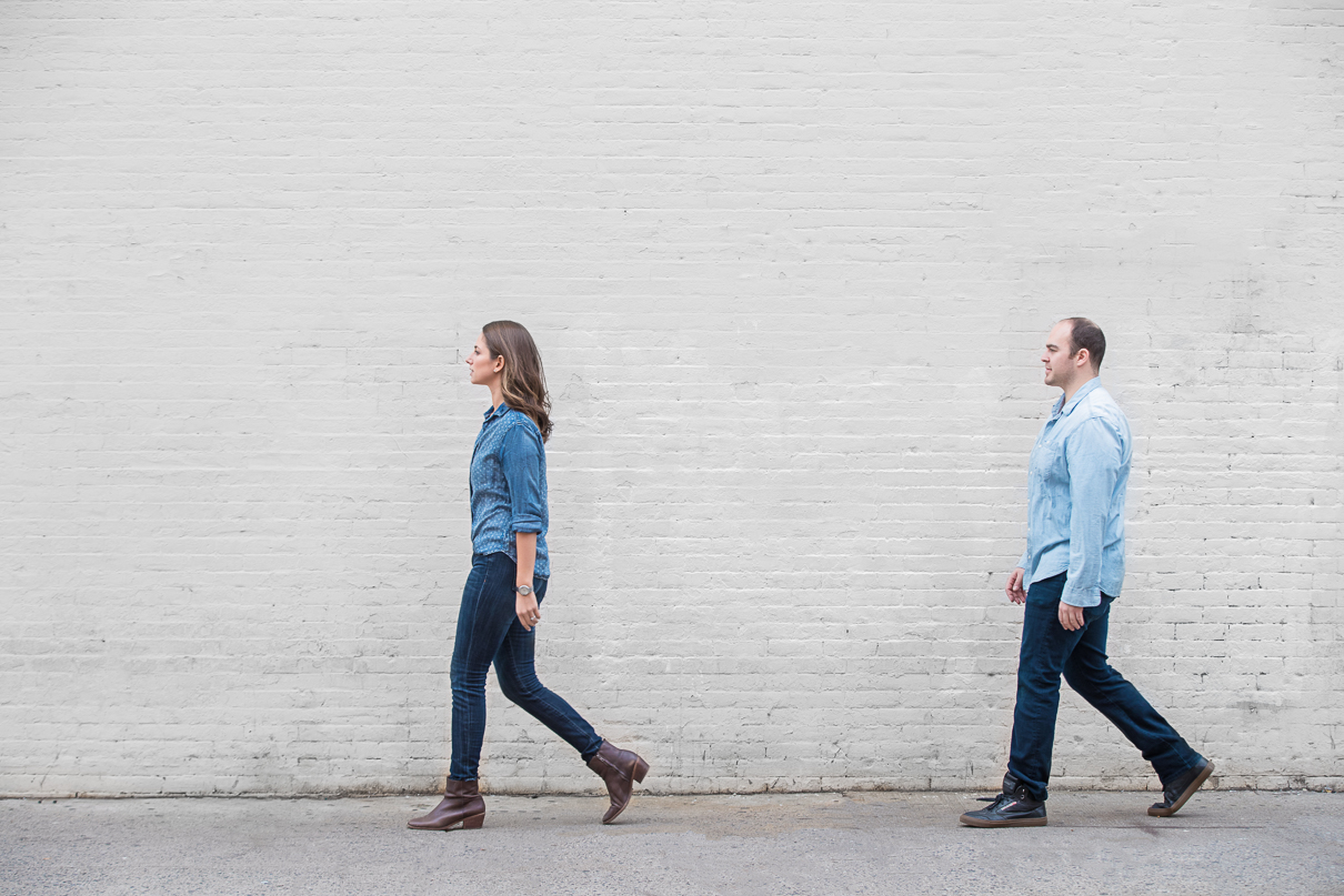 NYC Wedding Photographer DUMBO engagement session