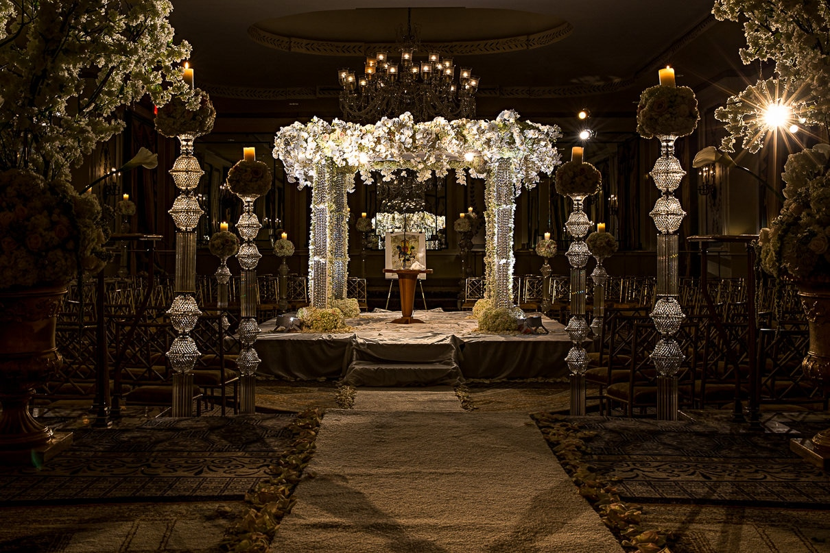 NYC Wedding Photographer Pierre Hotel Jewish Wedding Chuppah ideas