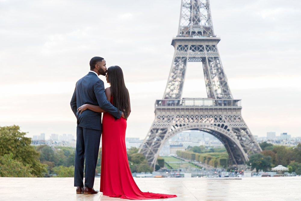 Paris engagement photos at the Eiffel Tower-3