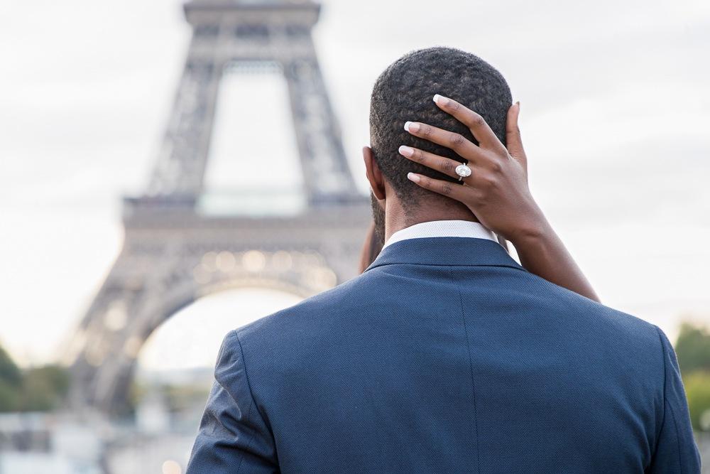 Paris engagement photos at the Eiffel Tower-5