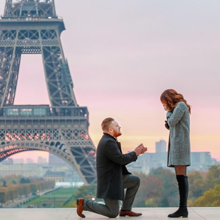 Paris surprise proposal
