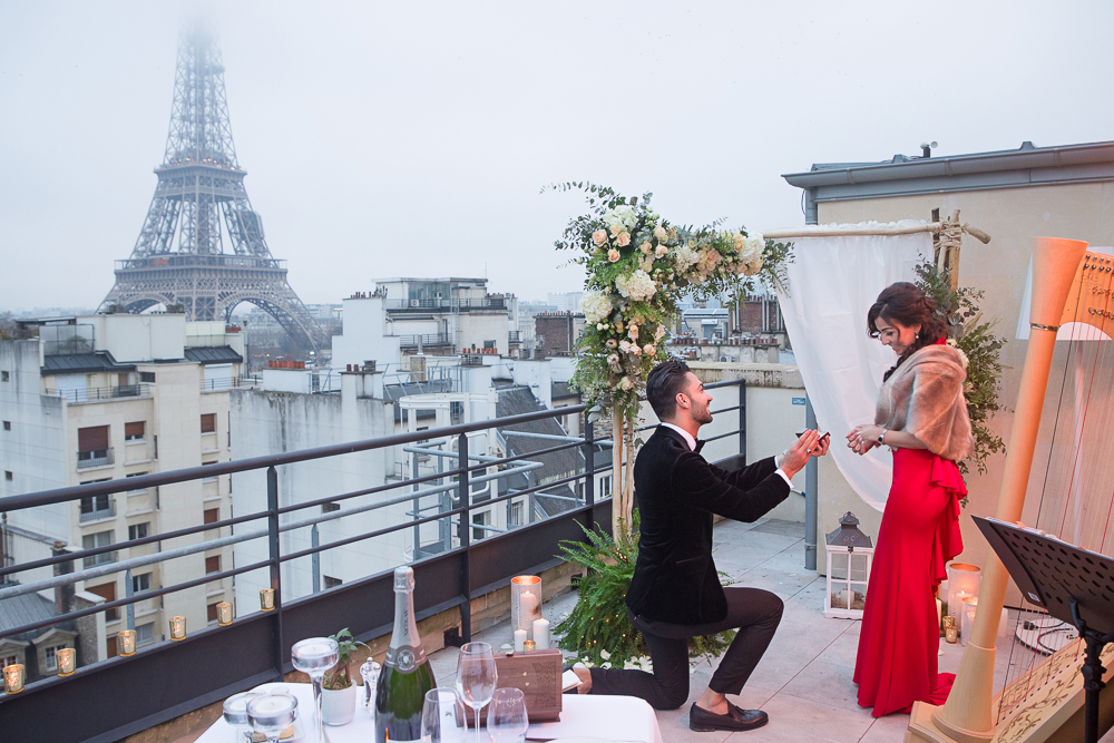 How to propose Paris proposal at the Shangri La Hotel
