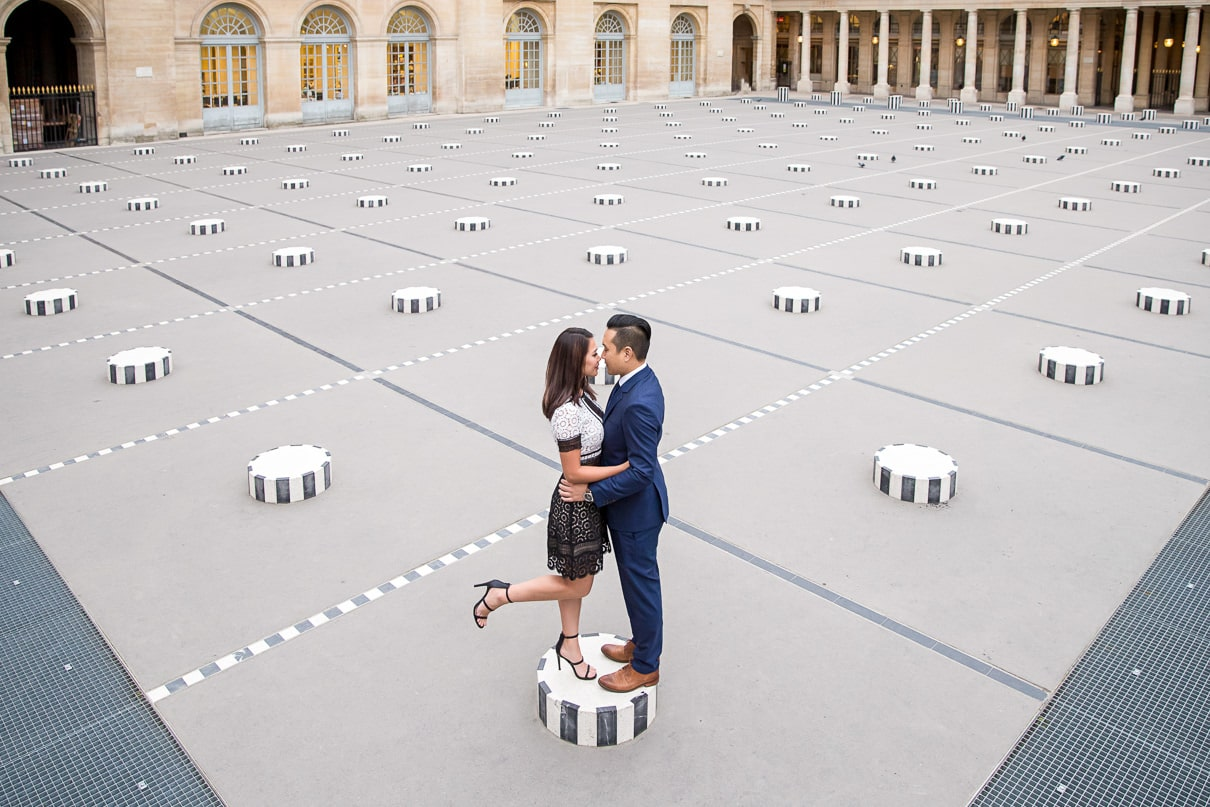 Paris Engagement at the Palais Royal