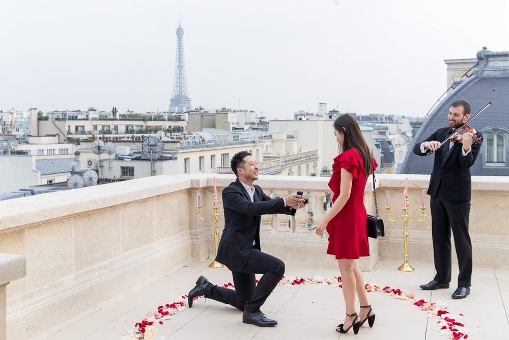 Paris photographer Raphael Hotel Luxury Paris proposal exclusive