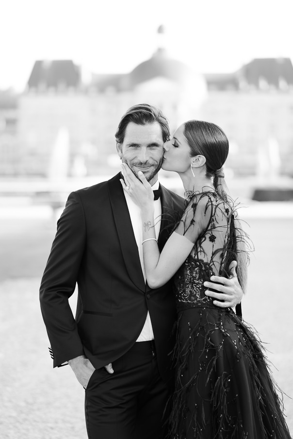 Chateau Vaux-le-Vicomte Luxury Wedding