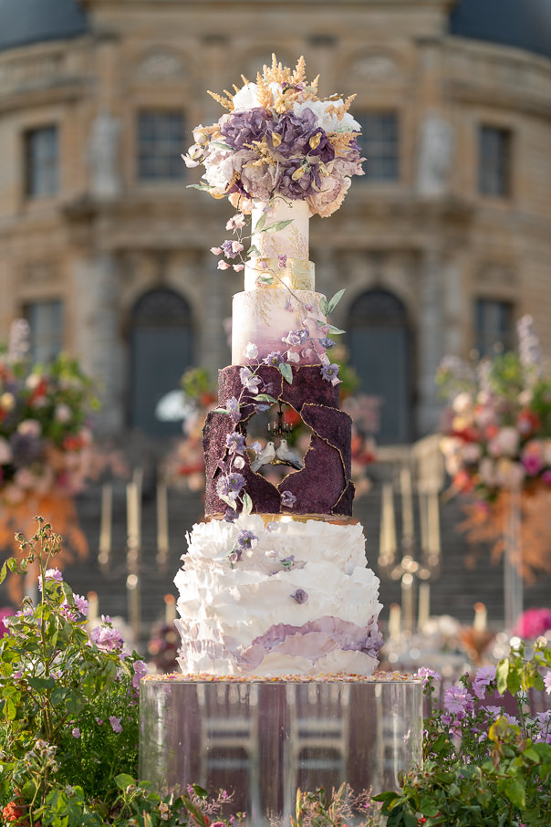 Luxury Destination Wedding at Chateau Vaux-le-Vicomte