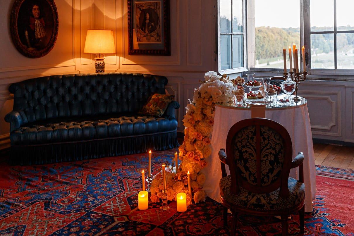 Paris photographer Chateau Vaux Le Vicomte Luxury Proposal
