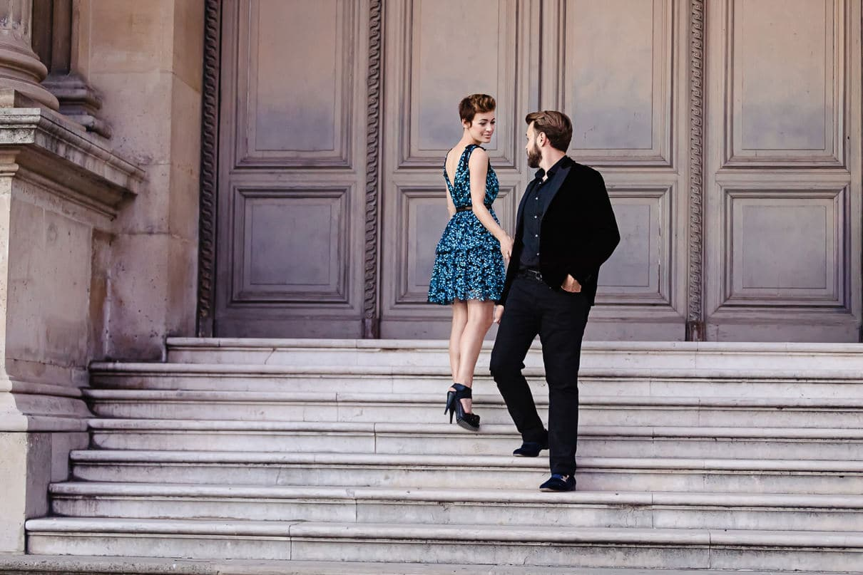 Paris photographers portrait and luxury weddings