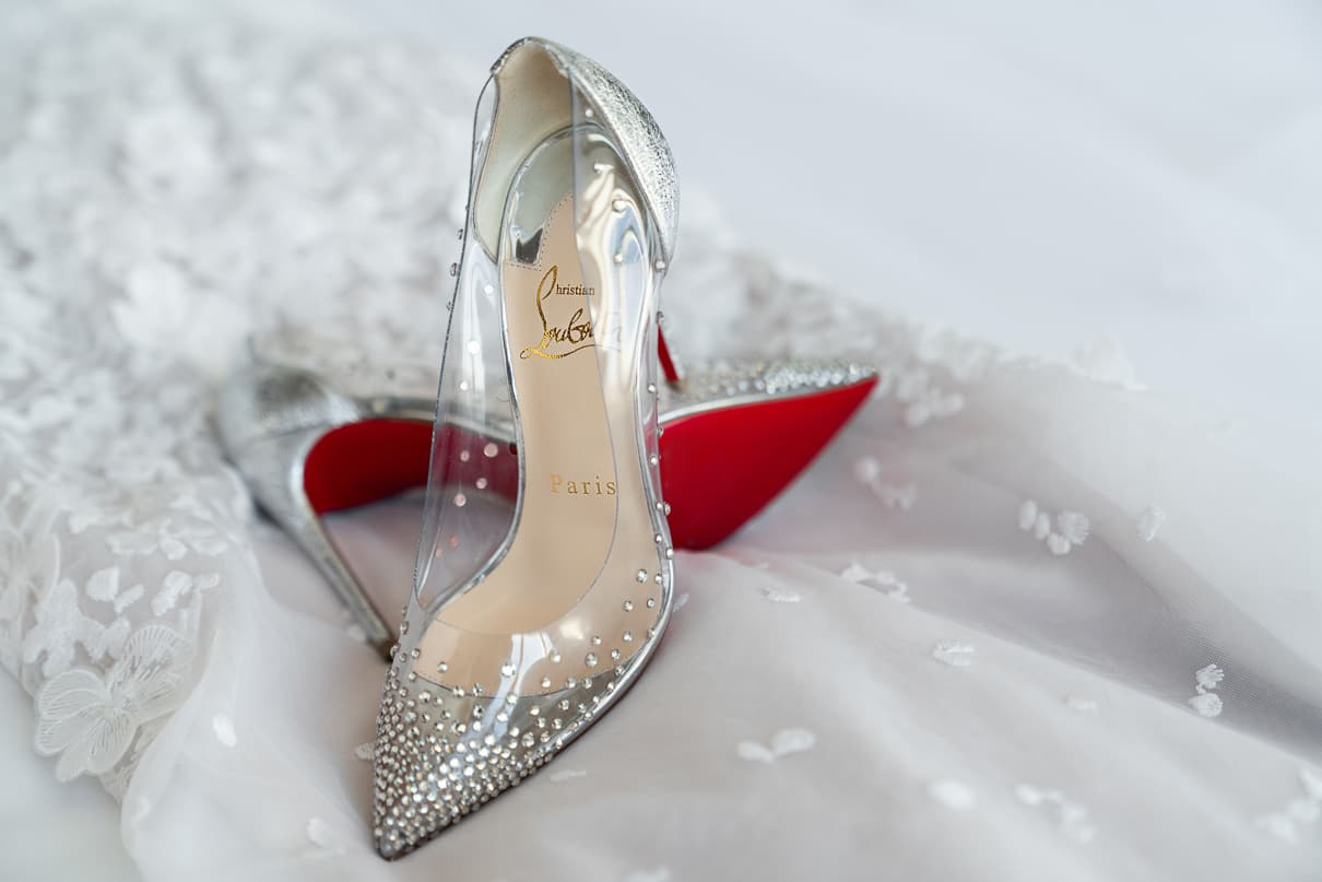 Capitale NYC Wedding Photographer shoe detail