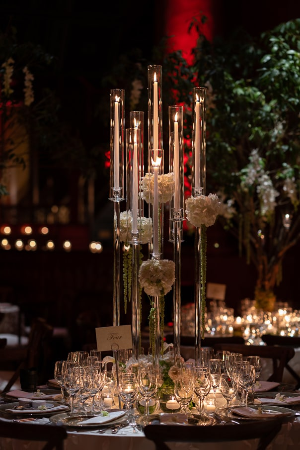Capitale NYC Wedding Photographer Luxury Wedding tabletop decor