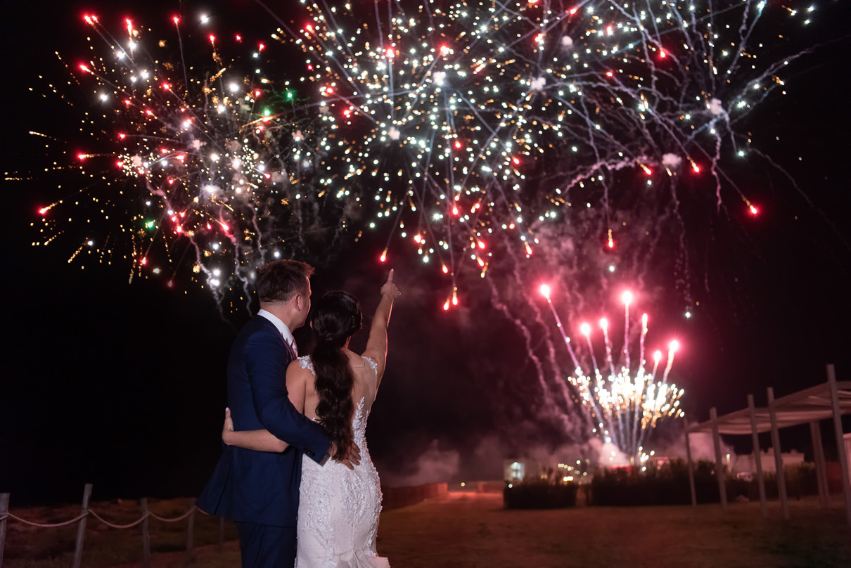 Borgo Egnazia Wedding Destination Wedding in Italy Fireworks